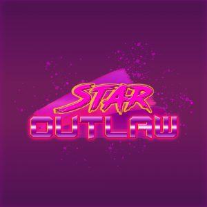Логотип для лазертага (космический шутер) в стиле 80-ых v.2