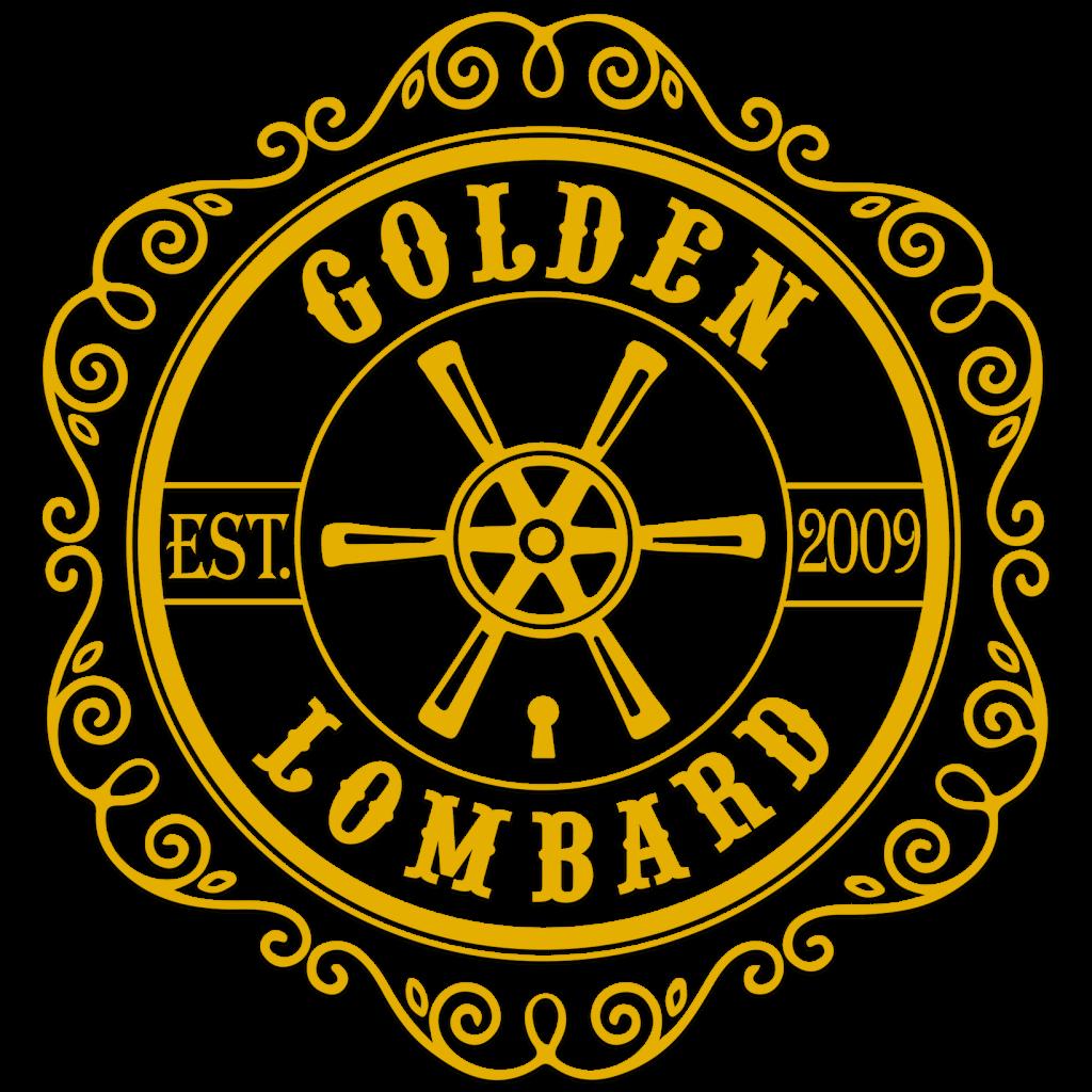 Логотип Golden Lombard финальная версия