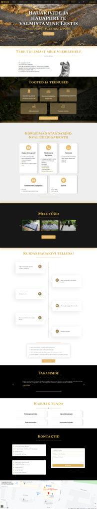 Разработка мультиязычного сайта Graniidimaailm (Эстония) - финальный вариант