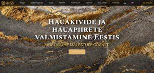 Разработка мультиязычного сайта + логотип для Graniidimaailm (Эстония)
